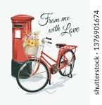 typography slogan with vintage... | Shutterstock .eps vector #1376901674