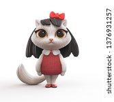 3d Cartoon Character Of A...