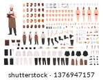 chef  cook or kitchen worker... | Shutterstock .eps vector #1376947157