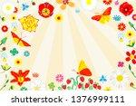 flat vector illustration of... | Shutterstock .eps vector #1376999111