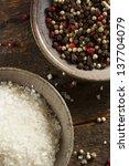 Raw Organic Sea Salt And Peppe...