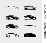 cars vectors | Shutterstock .eps vector #137704979