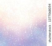 snow on fairytale sky cool... | Shutterstock . vector #1377068054