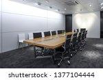 interior architectural space... | Shutterstock . vector #1377104444
