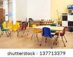 kindergarten preschool...   Shutterstock . vector #137713379