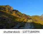 Snowdonia Wales Hills Mountain...