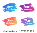 new collection color promo... | Shutterstock .eps vector #1377229121