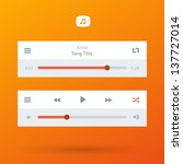 media player ui interface with...