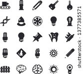 solid vector icon set   energy... | Shutterstock .eps vector #1377385571