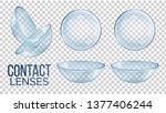 medical glass contact optical... | Shutterstock .eps vector #1377406244