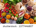 composition with assorted...   Shutterstock . vector #1377446807