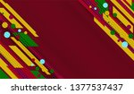 red abstract background design... | Shutterstock .eps vector #1377537437