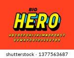 Comics Style Font Design ...