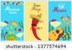 cinco de mayo. 5th of may. a... | Shutterstock .eps vector #1377574694