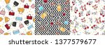 collection of women accessories.... | Shutterstock . vector #1377579677