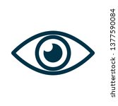eye icon sign   for stock | Shutterstock .eps vector #1377590084