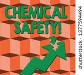 word writing text chemical... | Shutterstock . vector #1377594494
