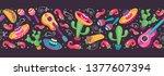 cinco de mayo objects... | Shutterstock .eps vector #1377607394