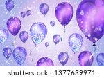 Elegant Pink Purple Helium...