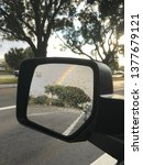 close up rainbow reflection on... | Shutterstock . vector #1377679121