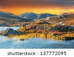 Magical Mountain Landscape By...