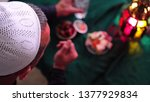 ramadan is a month of fasting ... | Shutterstock . vector #1377929834