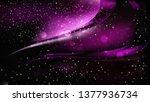 abstract cool purple bokeh...   Shutterstock .eps vector #1377936734