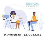 medicine concept with black... | Shutterstock .eps vector #1377952361