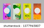 covers templates set with... | Shutterstock .eps vector #1377965807