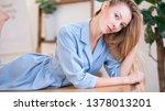 soft studio portrait of a...   Shutterstock . vector #1378013201