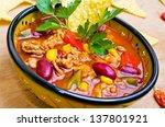 Mexican Soup  Like Chili Con...