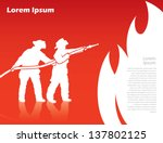 action,background,banner,burning,danger,department,emergency,fighter,fire,fire hose,fireman,flame,hat,helmet,hero