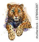 Leopard   Jaguar. Color ...