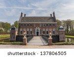 bridge to the old dutch mansion ... | Shutterstock . vector #137806505