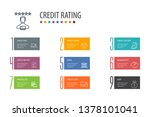credit rating banner template ...