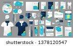 corporate medical center... | Shutterstock .eps vector #1378120547