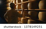 Cheesemaker Is Controlling The...