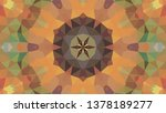 geometric design  mosaic of a... | Shutterstock .eps vector #1378189277