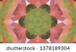 geometric design  mosaic of a... | Shutterstock .eps vector #1378189304
