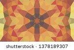 geometric design  mosaic of a... | Shutterstock .eps vector #1378189307