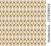 geometric seamless pattern...   Shutterstock .eps vector #1378208414