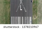 Small photo of Aerial top down picture of abandoned airport runway Tempelhofer Feld in English Templehof Field historically was an area in Berlin used for military practice and as a parade ground of the garrison