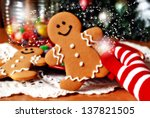christmas magic.  holiday still ... | Shutterstock . vector #137821505