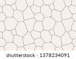 vector seamless pattern. modern ... | Shutterstock .eps vector #1378234091