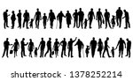 collection of people... | Shutterstock .eps vector #1378252214