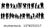 collection of family... | Shutterstock .eps vector #1378252217