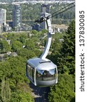 An Aerial Tram Transporting...