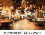 blurred image of the interior... | Shutterstock . vector #1378339244