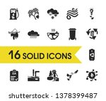 eco icons set with eia approved ...