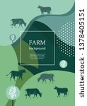agricultural brochure layout... | Shutterstock .eps vector #1378405151